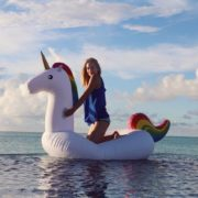 Her beautiful highness the Inflatable Unicorn